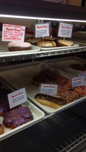 Hypnotic Donuts during our break.