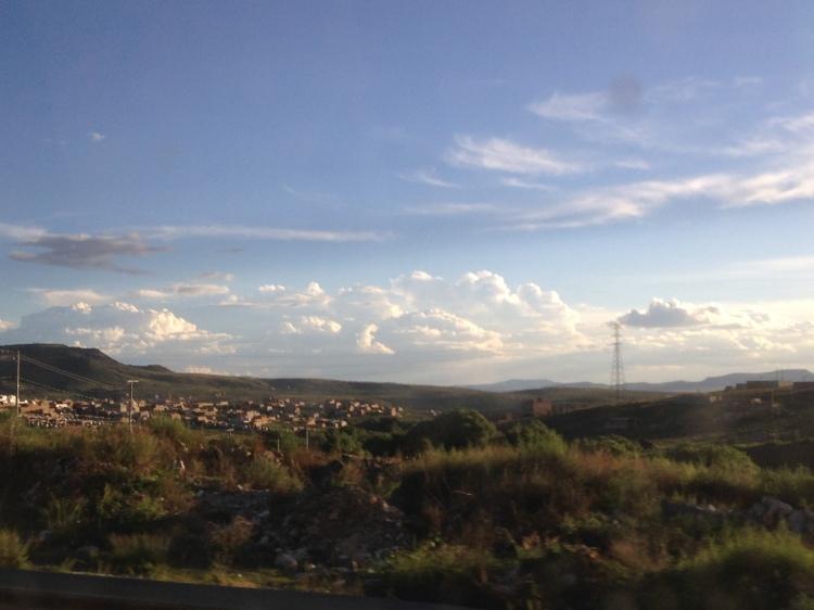 Heading into Zacatecas.