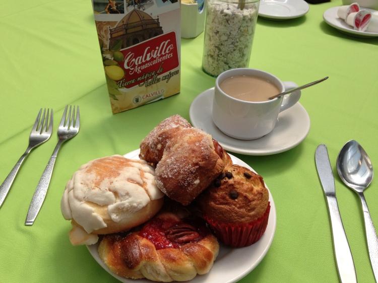 Breakfast in Aguascalientes.  Swoon*