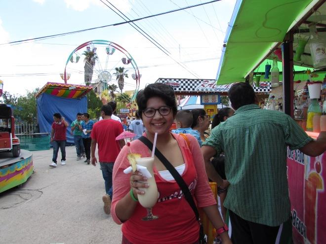 I had a Piña Colada.