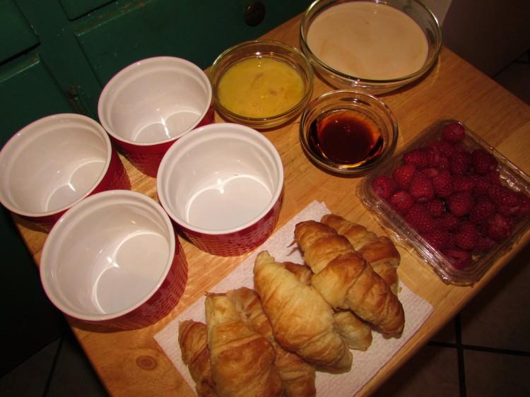 Raspberry Croissant 007