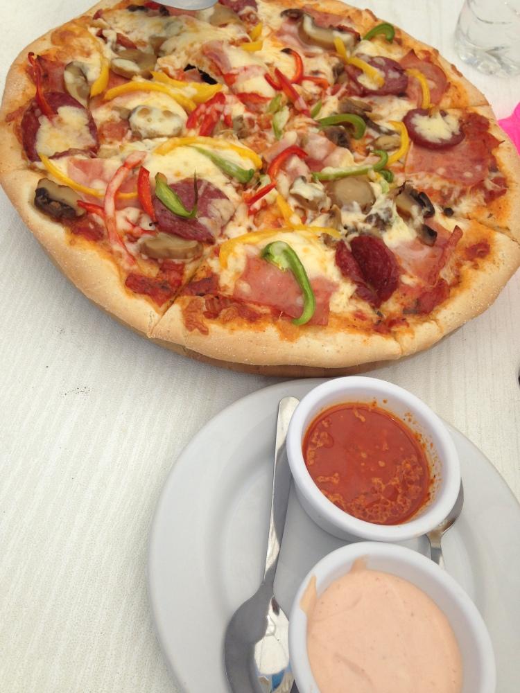 Supreme pizza.